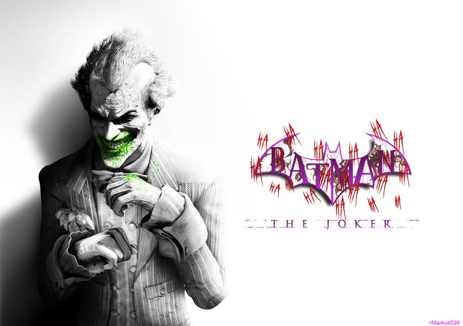 Joker   Batman Arkham City   Wallpaper V2 by Markus029 900x635