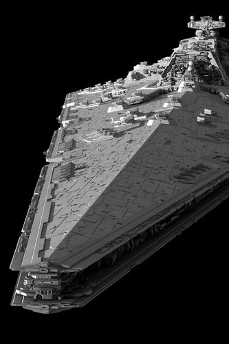 Imperial Destroyer screensaver for Amazon Kindle DX 333x500
