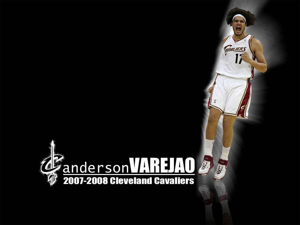 NO17 Anderson Varejao Desktop   Cleveland Cavaliers Wallpaper 1024x768