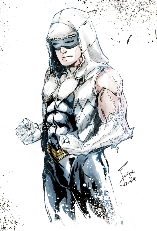 Captain Cold New52 by onlyfuge 550x810
