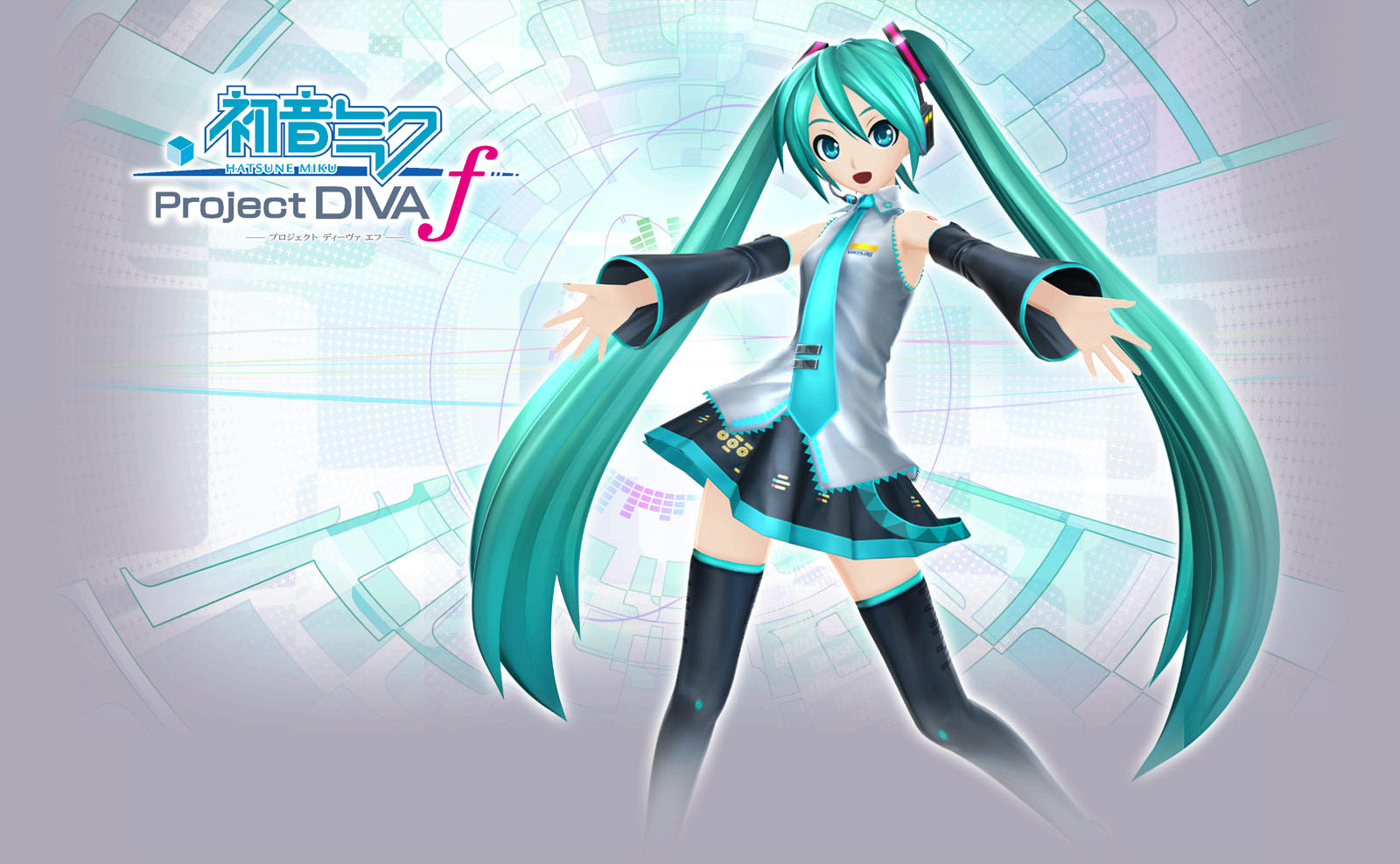 Hatsune miku project diva wallpaper wallpapersafari - Hatsune miku project diva ...