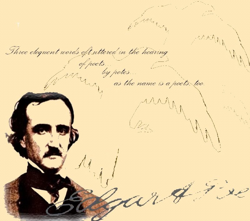 Edgar Allan Poe Wallpaper Edgar allan poe by 800x708