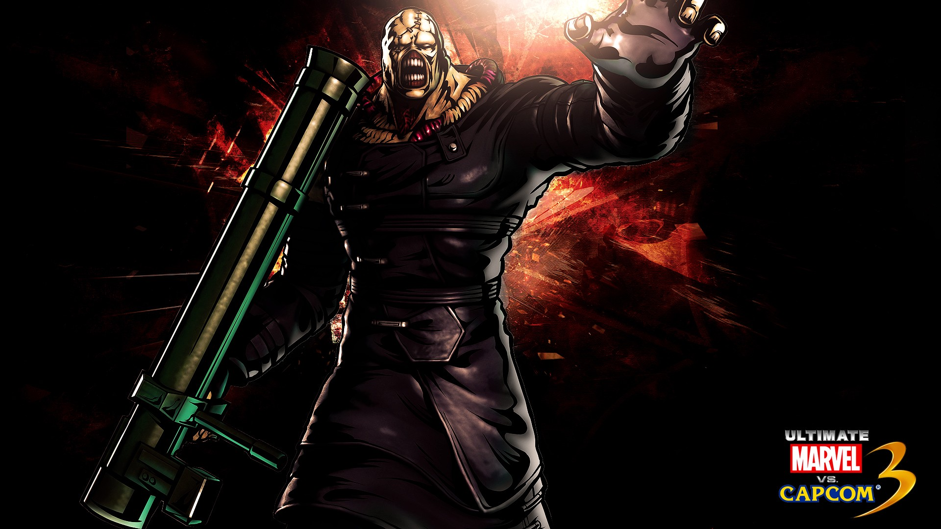 Free Download Wallpaper Resident Evil Nemesis Iphone