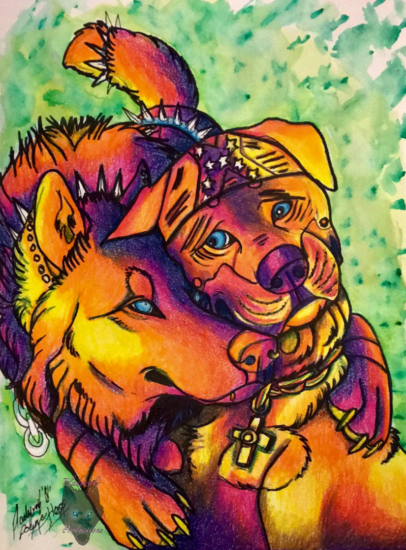 Happy hugs   I wanted to do something with color so I only used 825x1118
