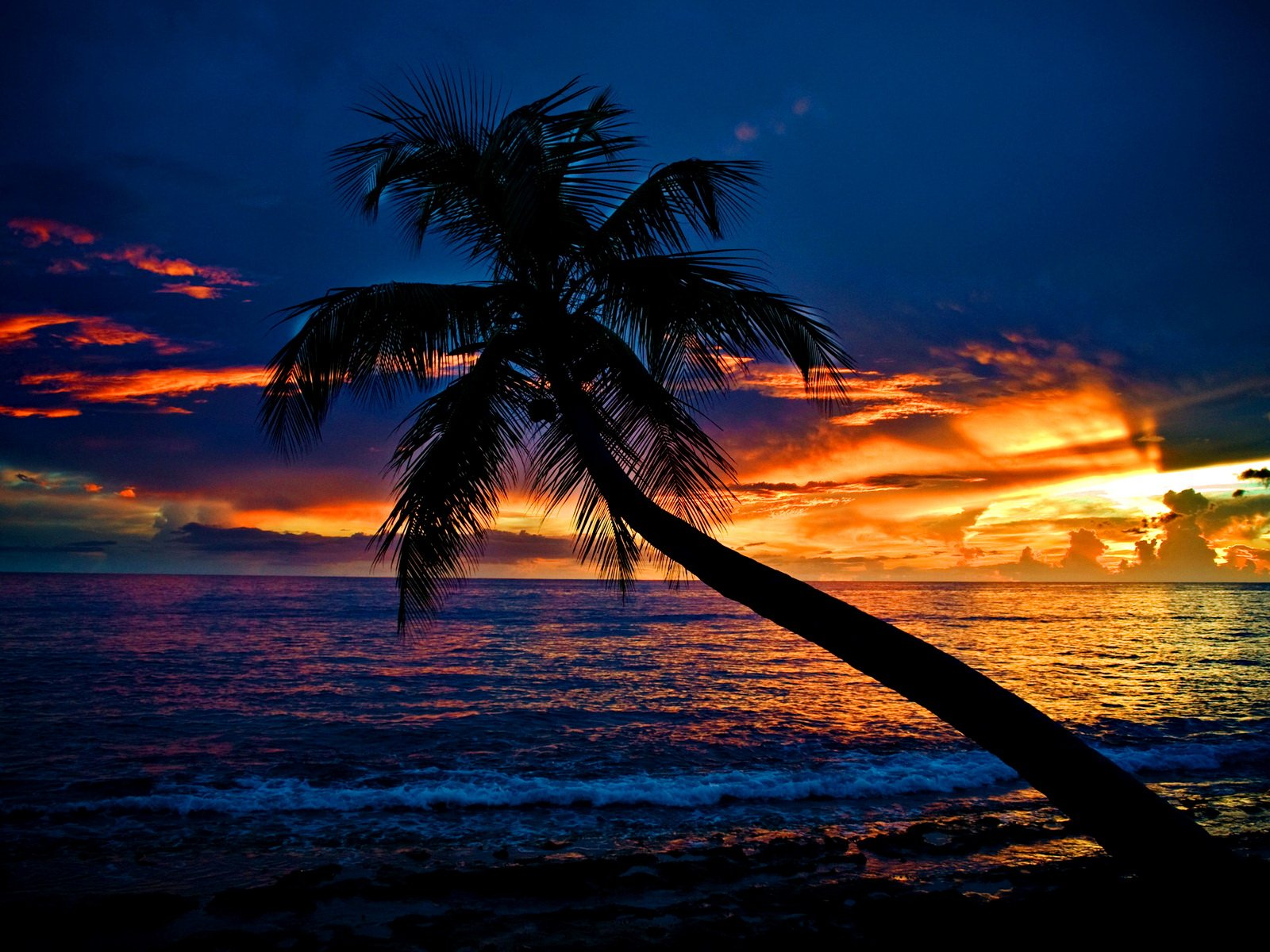 39 tropical beach sunset wallpaper desktop on - Desktop wallpaper 1600x1200 ...
