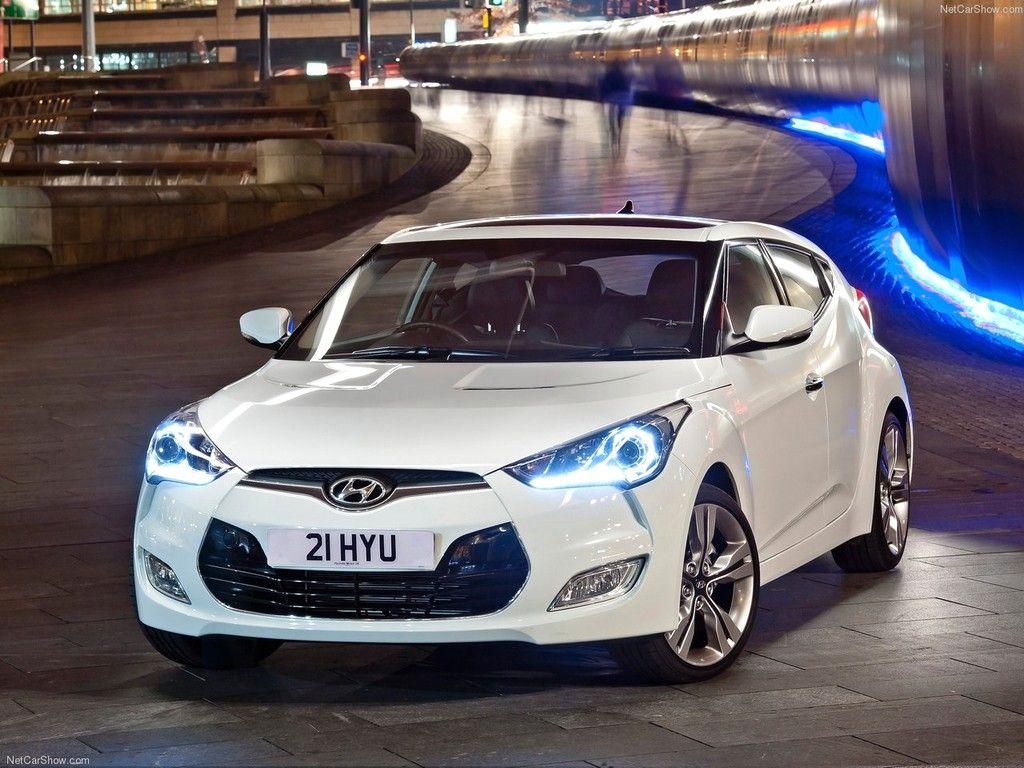White Hyundai Veloster 138 hp Hyundai veloster Hyundai 1024x768