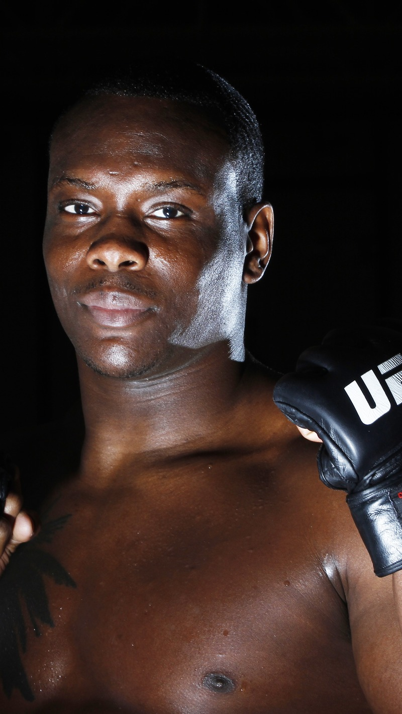 Download wallpaper 800x1420 ovince saint preux ultimate fighting 800x1420