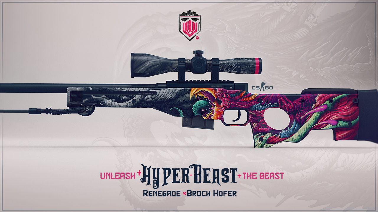 Another weapon using the Hyper Beast theme Let me know wich one you 1280x720