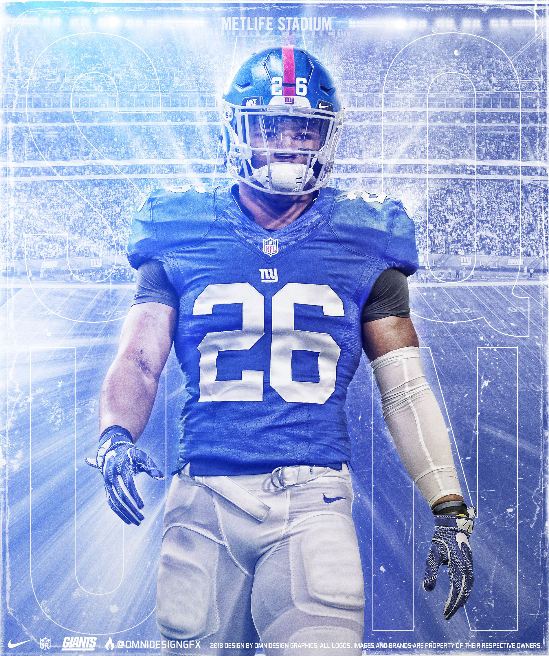 Saquon Barkley New York Giants Wallpapers FREE Pictures on GreePX 1897x2269