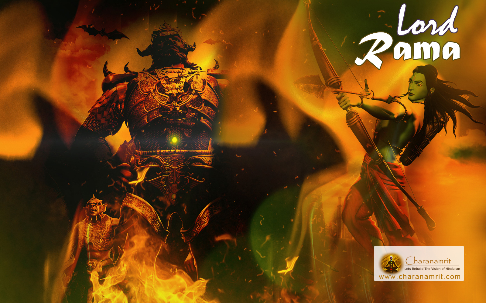 3D HD Wallpaper for download Lord Rama 3D HD wallpapers God 1600x1000
