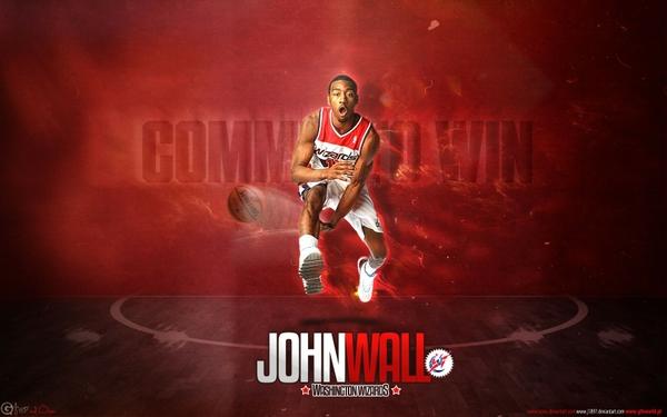 nba basketball washington wizards john wall 1680x1050 wallpaper 600x375