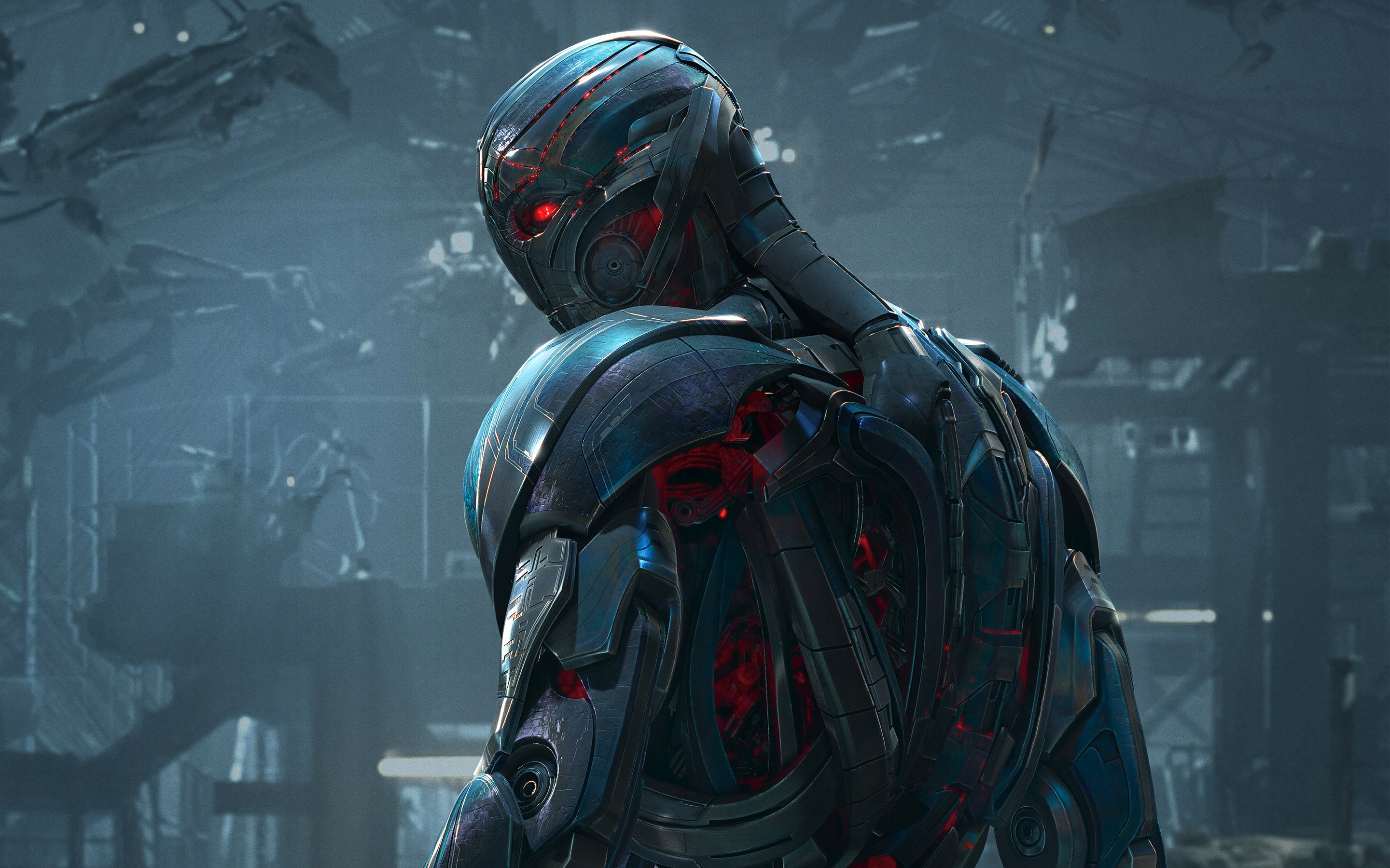 Ultron in Avengers Age of Ultron Wallpapers HD Wallpapers 2880x1800