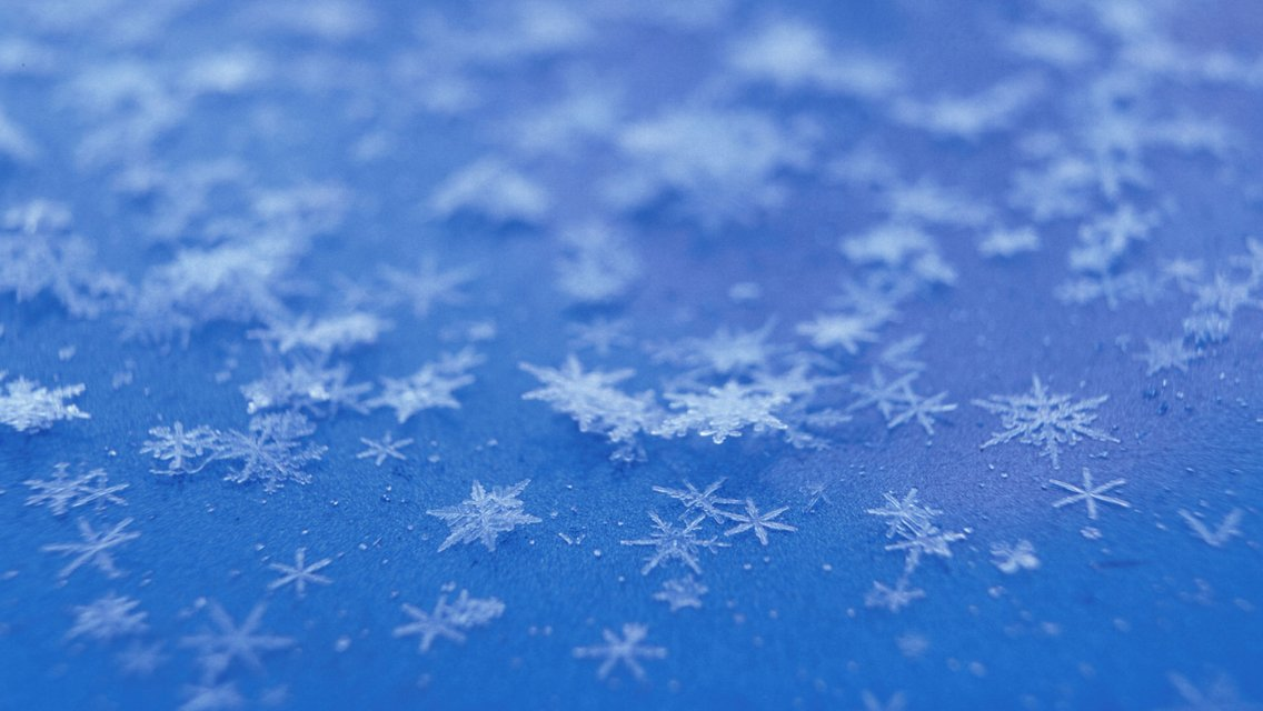 Beautiful Winter Snowflakes HD Wallpapers for iPhone 5 1136x640