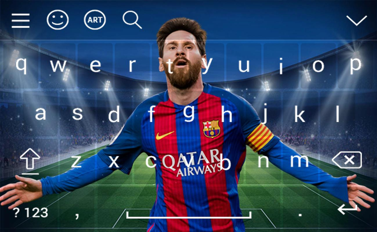 Android keyboard for lionel messi LM10 HD wallpapers 1299x800