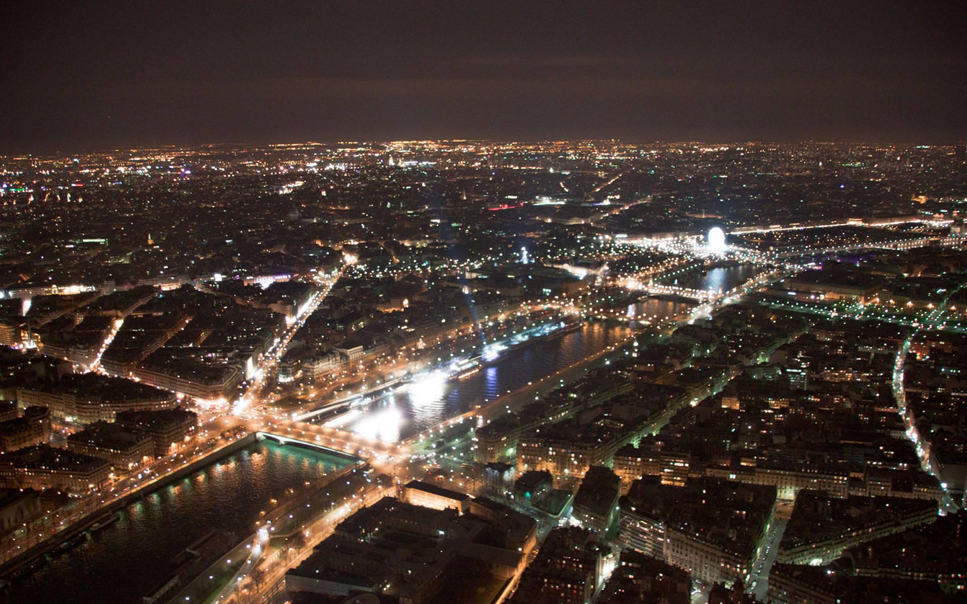 Paris city night light view wallpaper city wallpaper 1920x1200