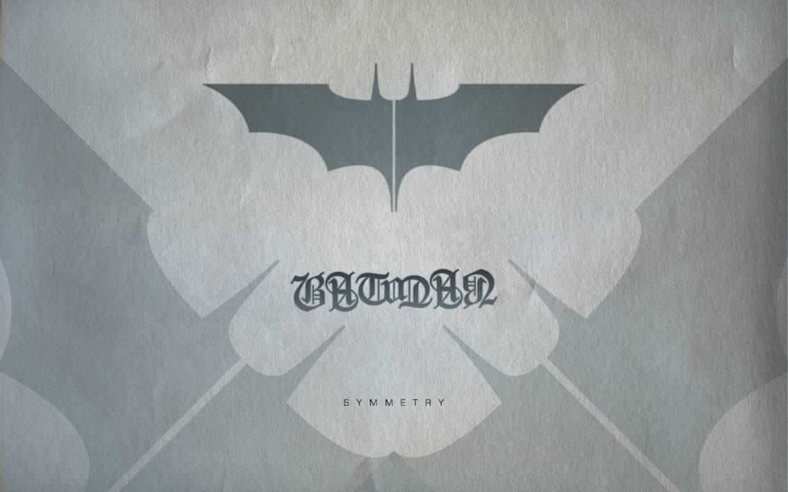 Batman Ambigram Wallpaper by michealoduibhir 1131x707