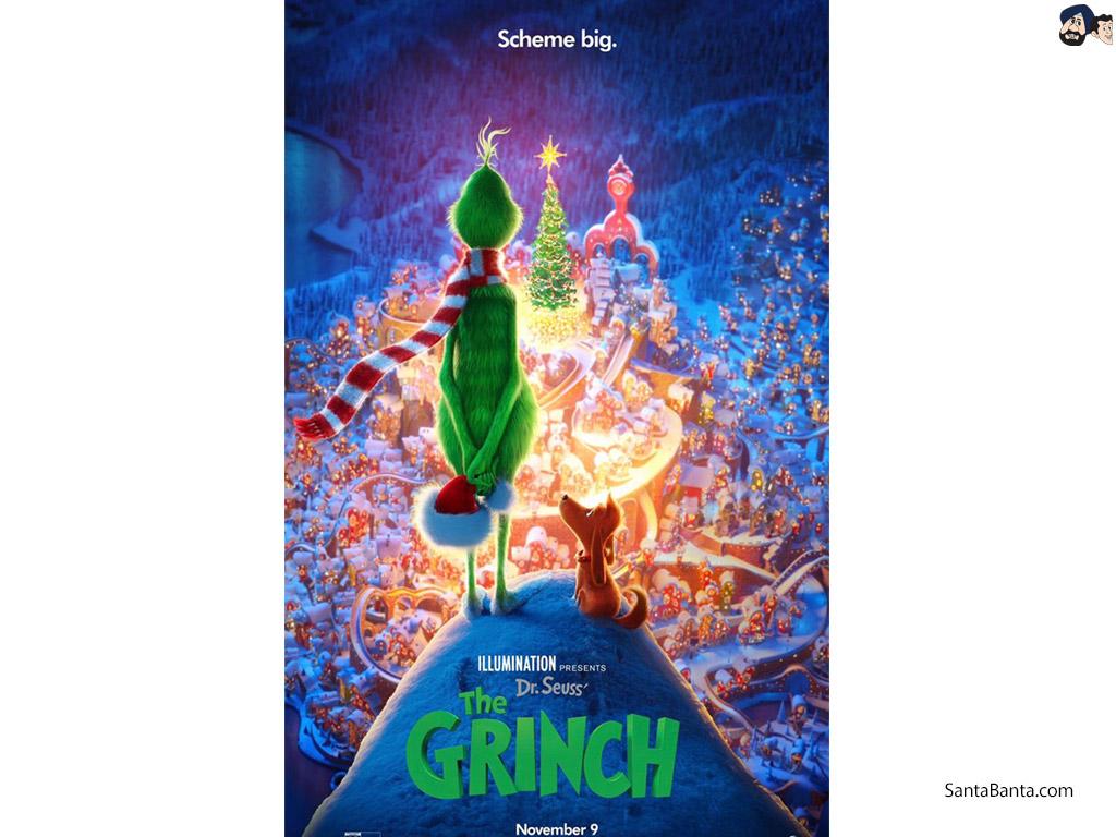 The Grinch Movie Wallpaper 3 1024x768