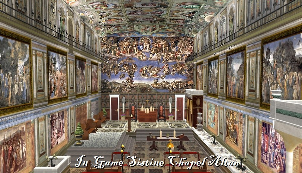 Download Sistine Chapel Wallpaper The other sistine chapel 1000x572