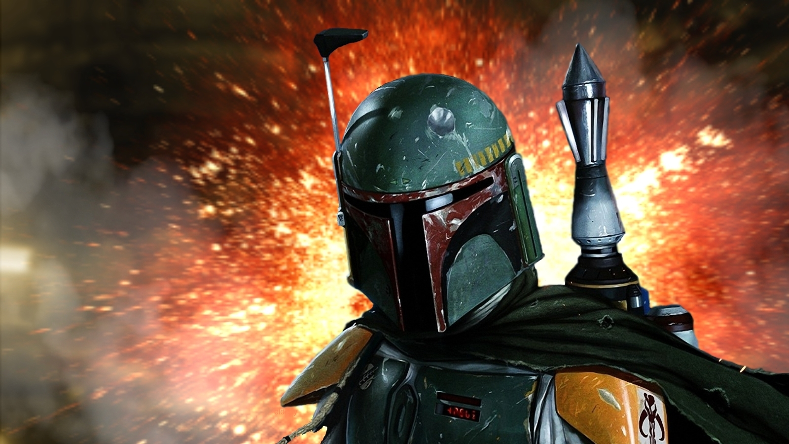 Beauty Re Rendered Boba Fett Wallpaper 1600x900