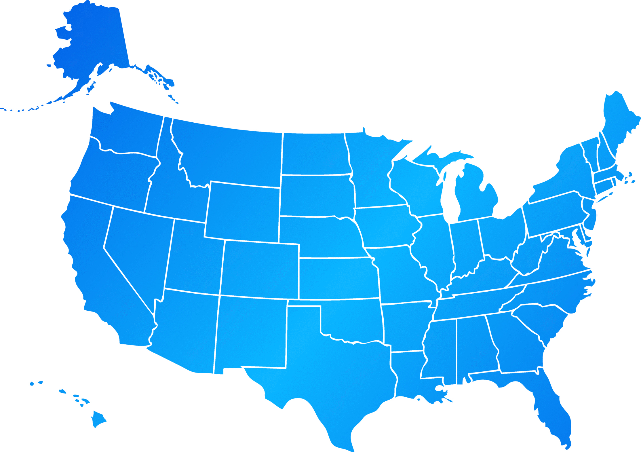 Us Map Editable States Maps Of USA Lets Draw The US Borders Quiz - Usa location on world map