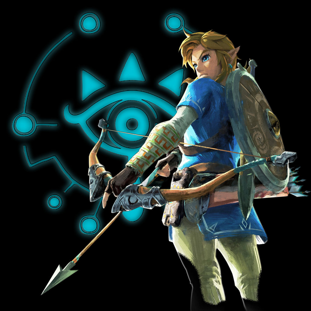 Free Download The Legend Of Zelda Breath Of The Wild Link By