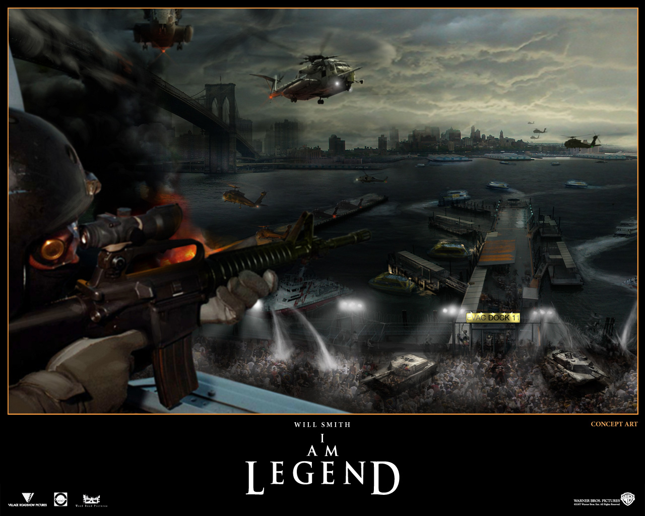 I Am Legend   Movies Wallpaper 433308 1280x1024