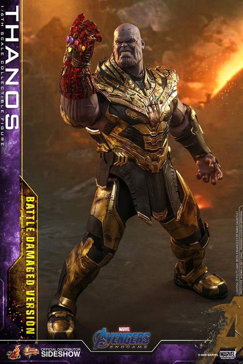 Marvel Avengers Endgame Thanos 16 Collectible Figure MMS564 Battle 854x1280