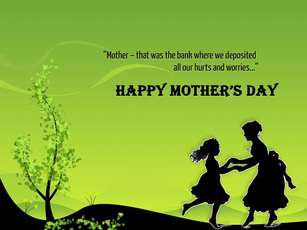 Happy Mothers Day Wishes Quotes Hd Wallpaper 1024x768