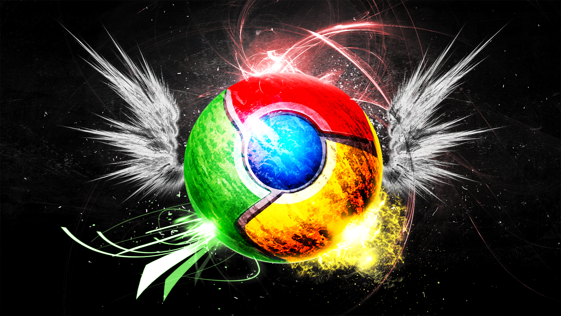 Google Chrome Wallpaper by Hardii 1920x1080
