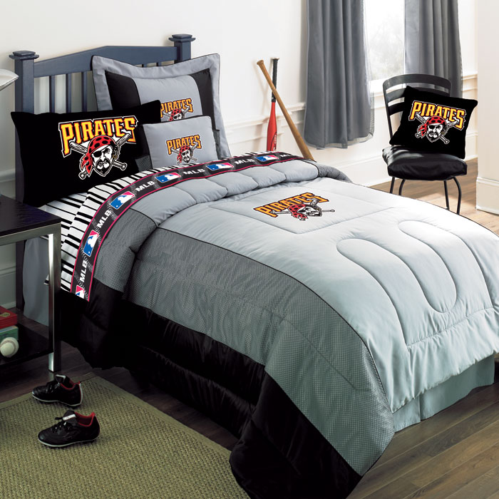 Pittsburgh Pirates MLB Authentic Team Jersey Bedding Twin Size 700x700