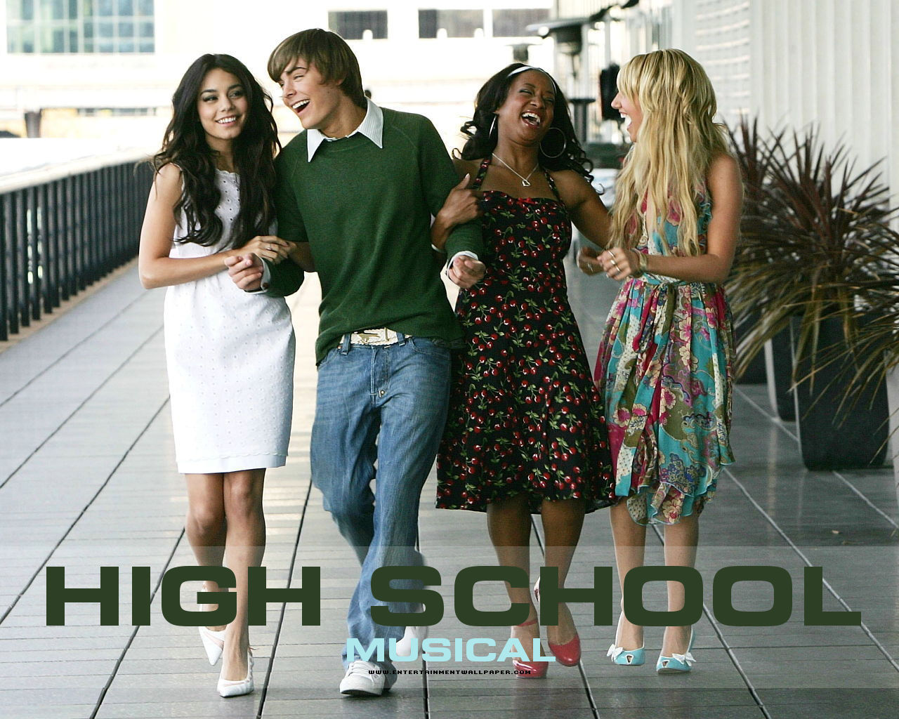 HSM   High School Musical Wallpaper 7091977 1280x1024