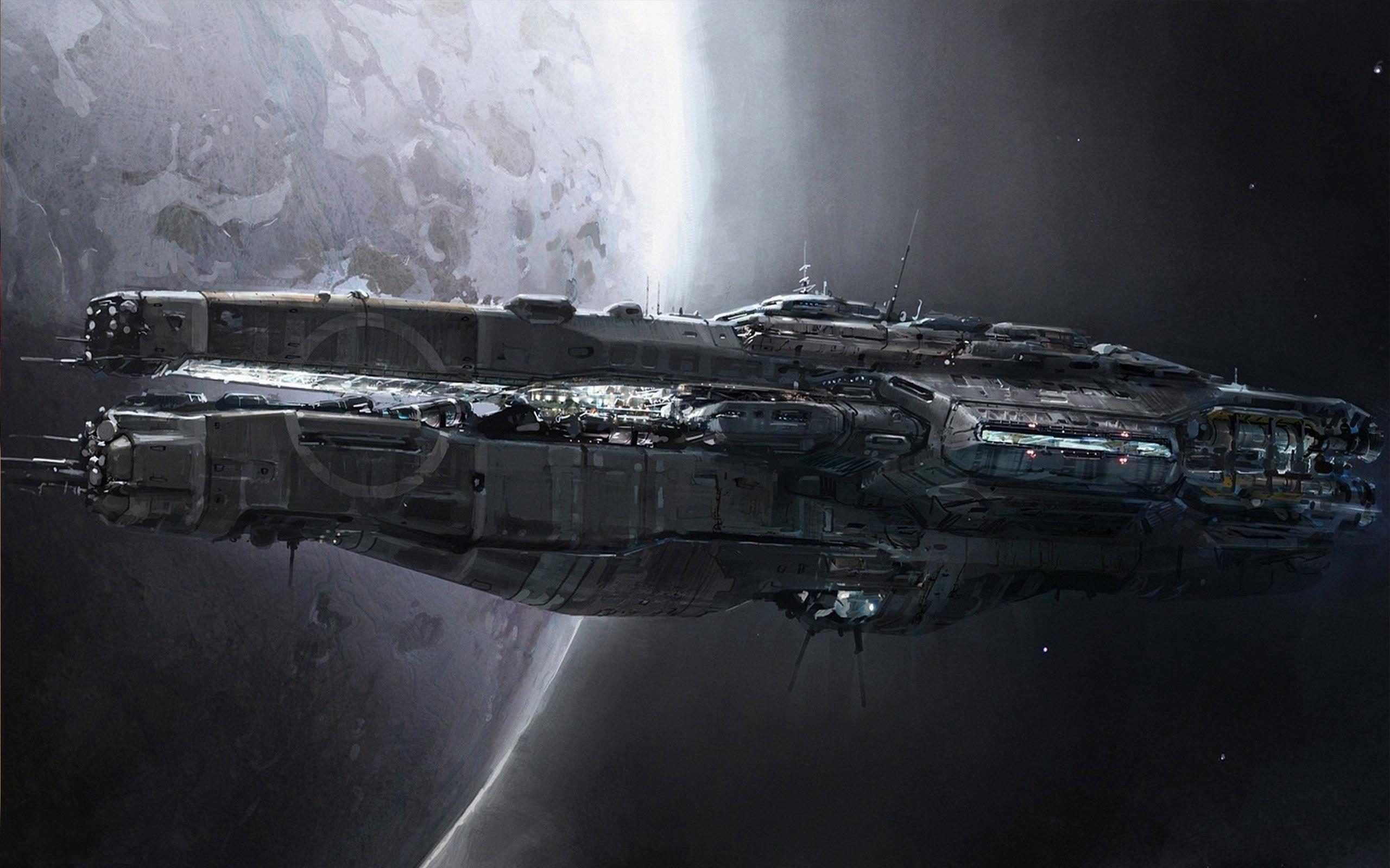 Spaceship wallpaper 14704 2560x1600
