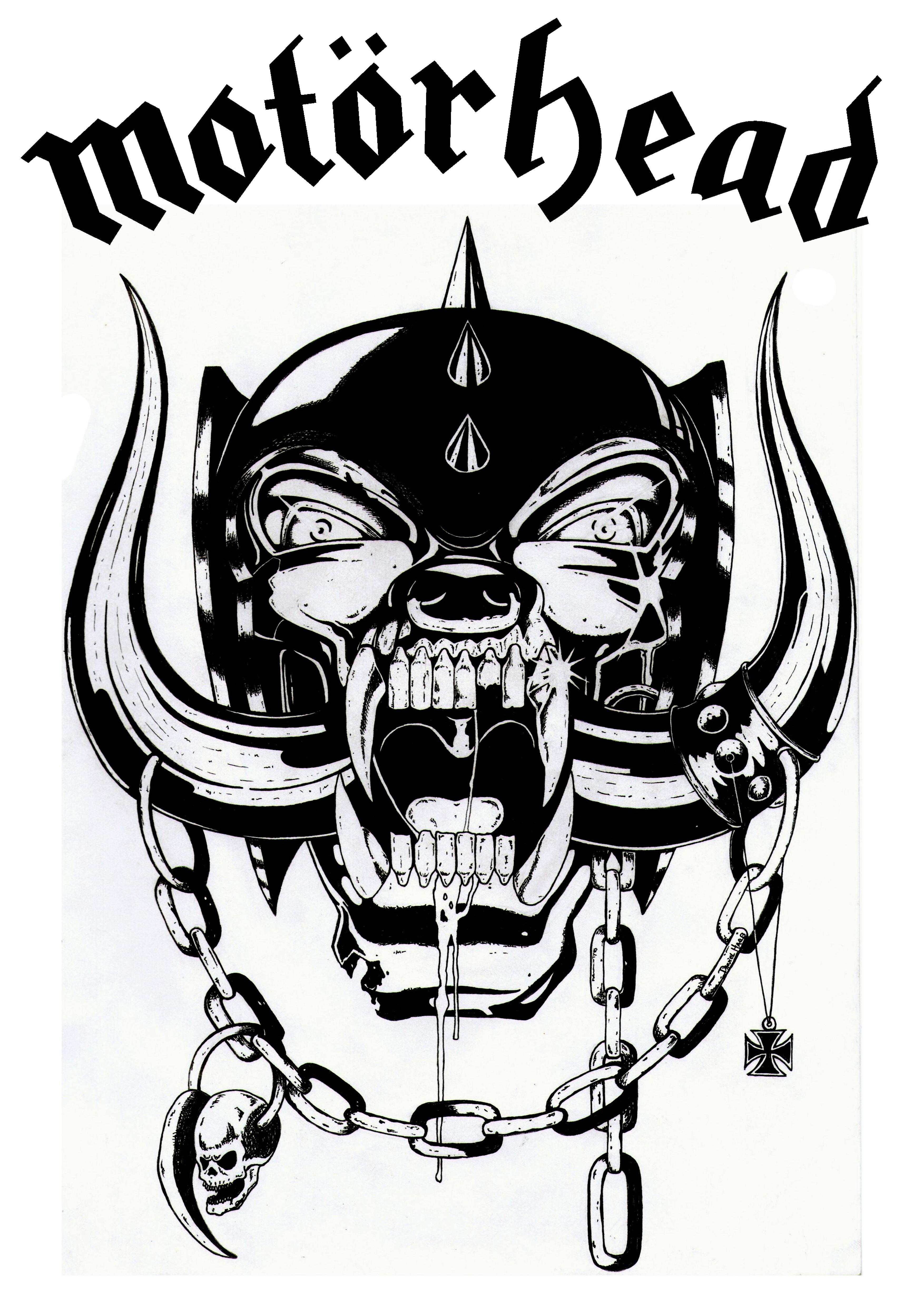 Motorhead by HateAdept 3508x4961