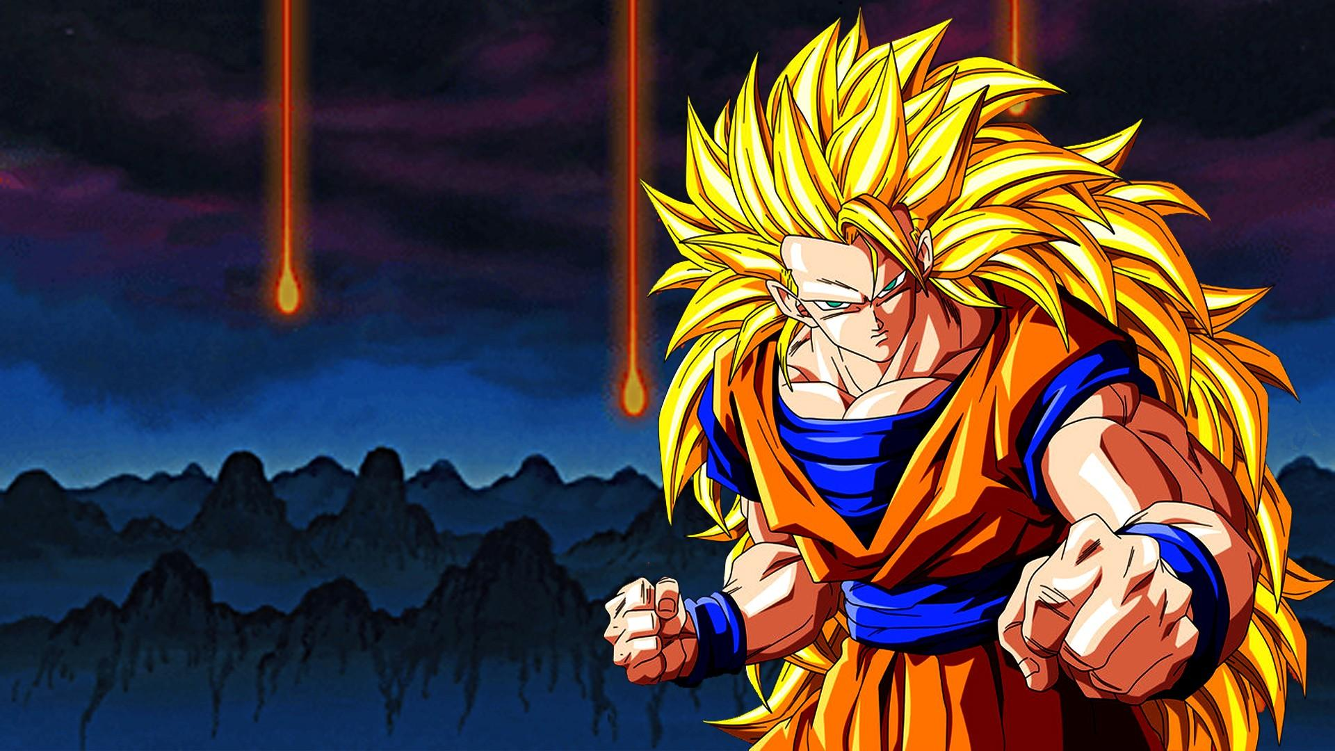 Goku super saiyan wallpaper 77929 1920x1080