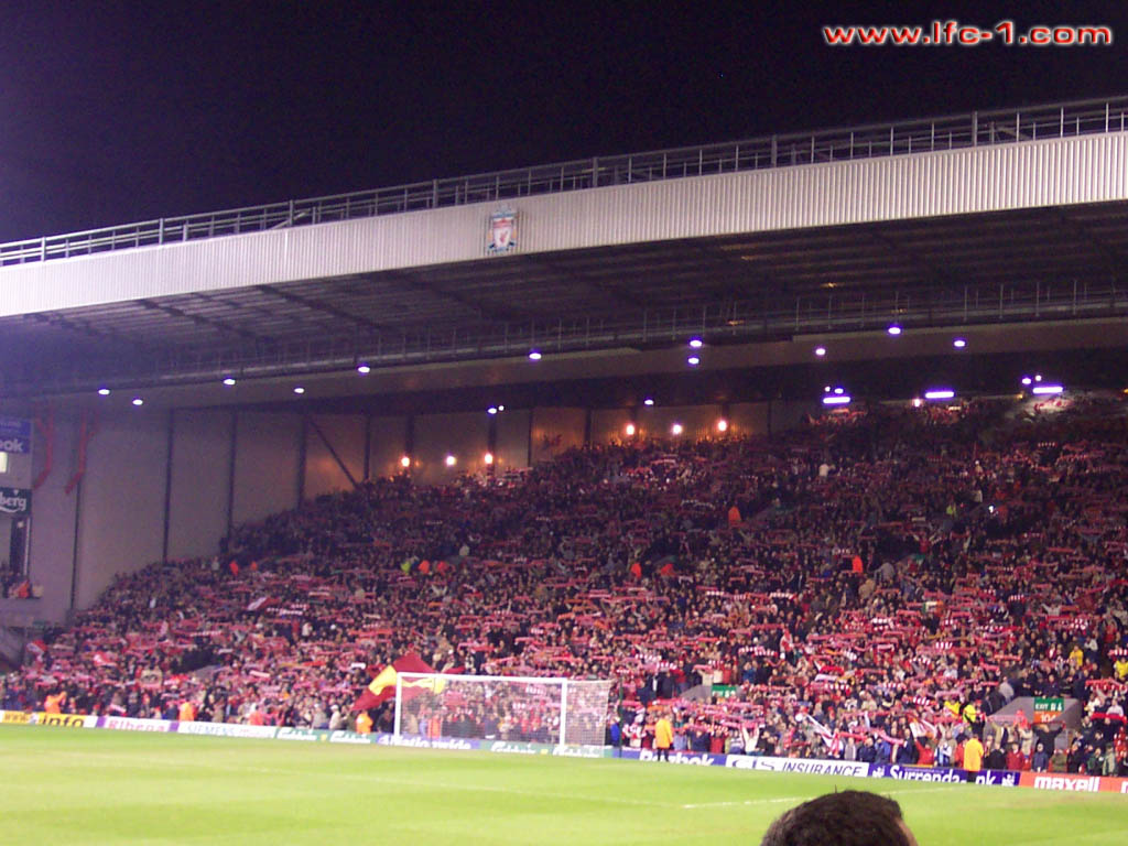 The Kop Liverpool v Crystal Palace 1024x768