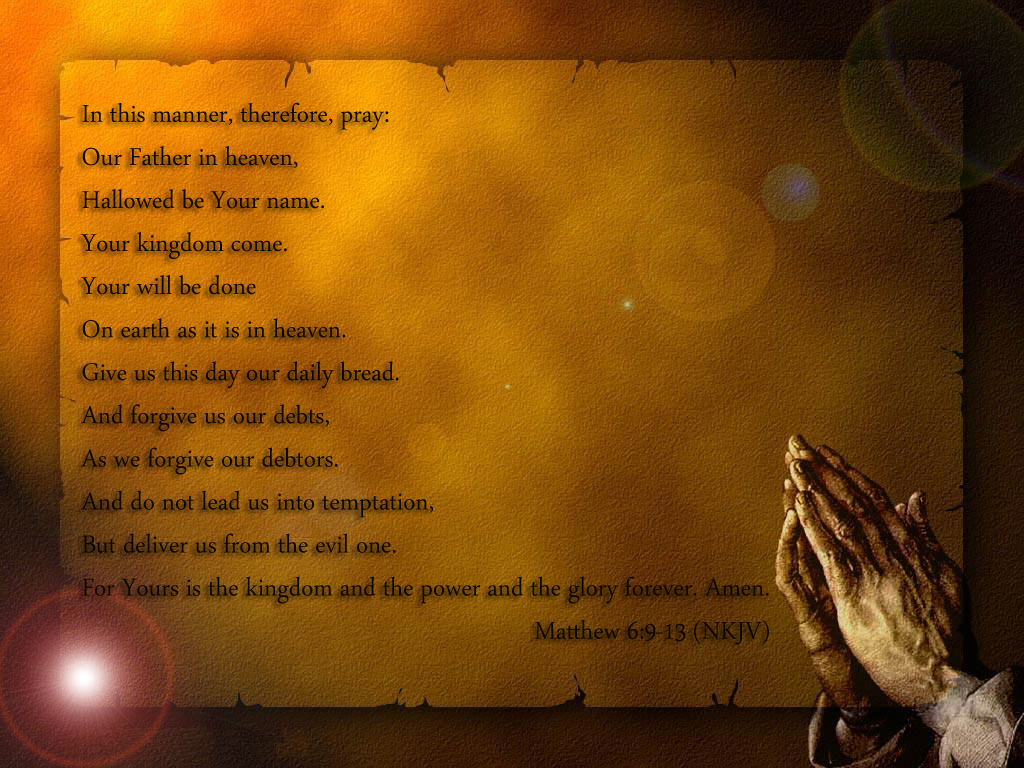 the lords prayer iphone - photo #47