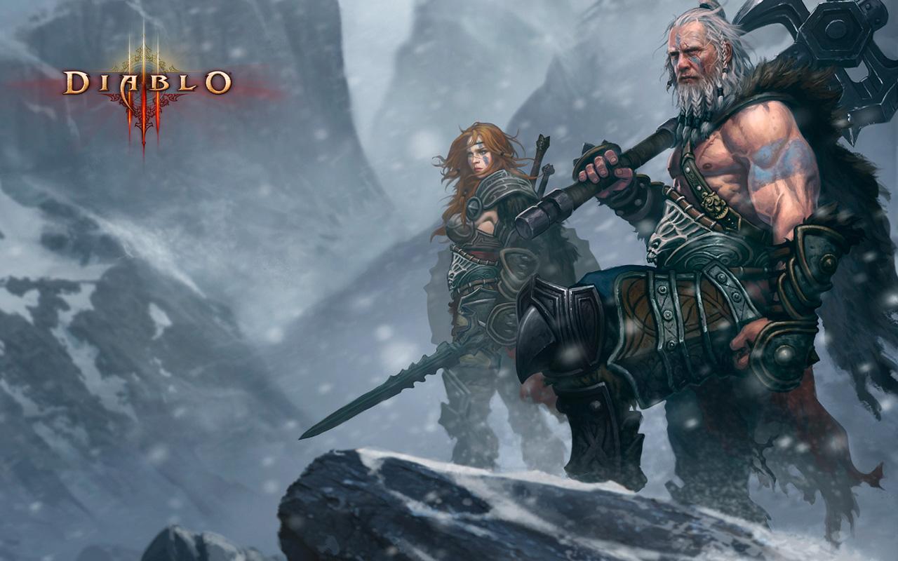 Icewind Dale Barbarians Wallpaper By Vermaden 1024 X 768 Pixels 1280x800