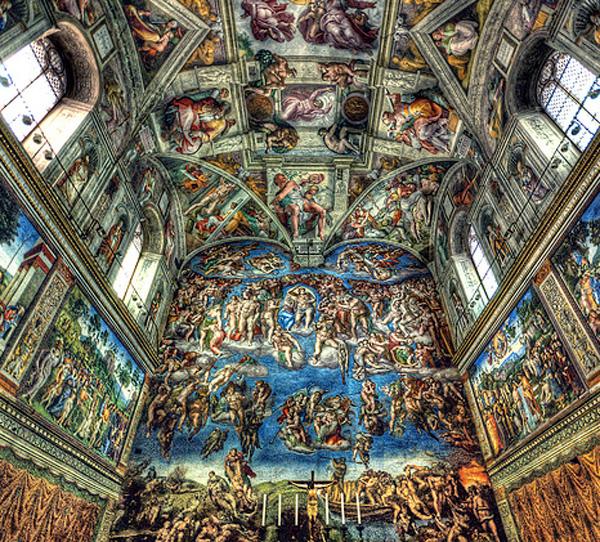 47 Sistine Chapel Wallpaper On Wallpapersafari