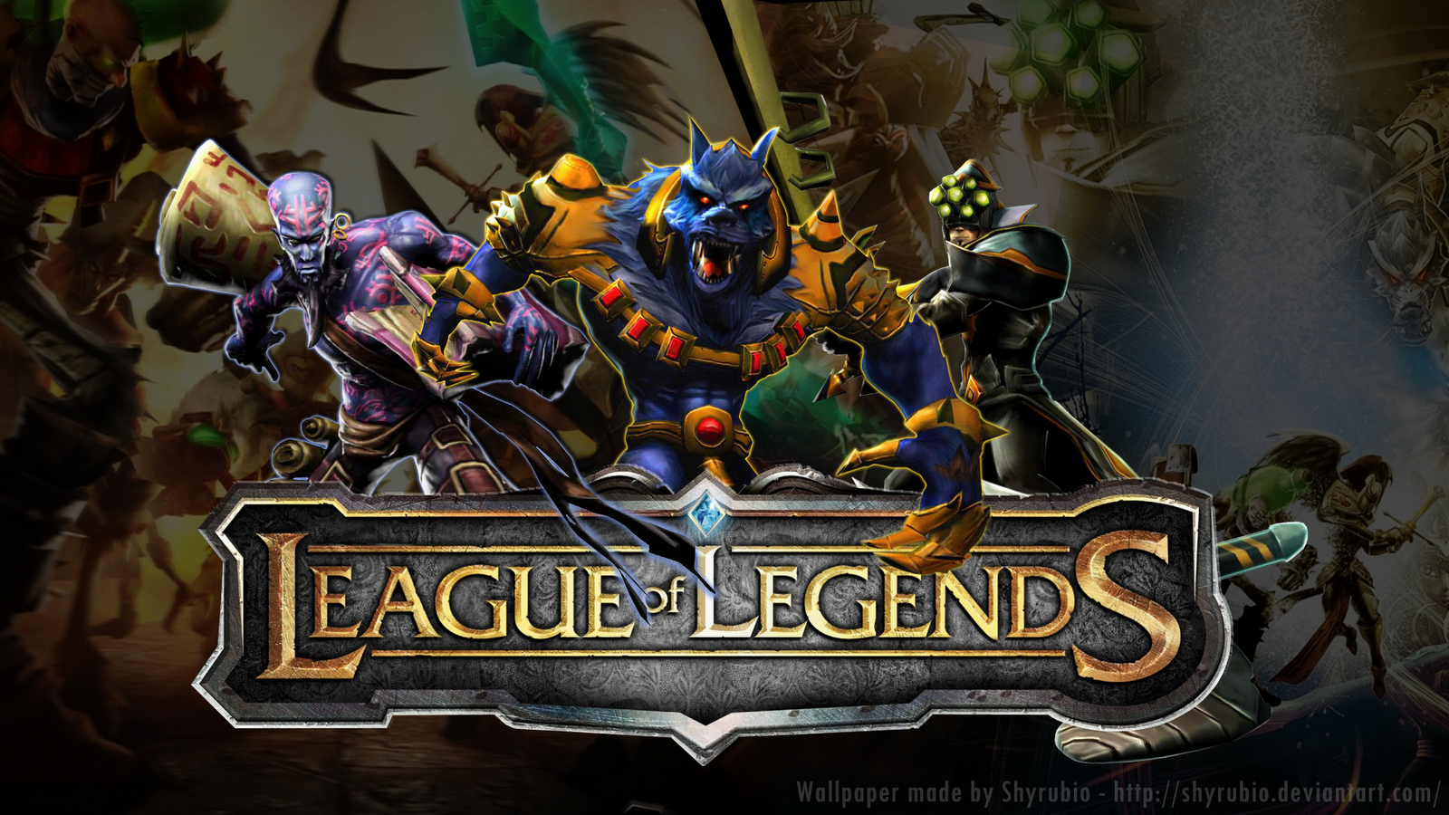 League of legends Bienvenidos a MI pgina 1600x900
