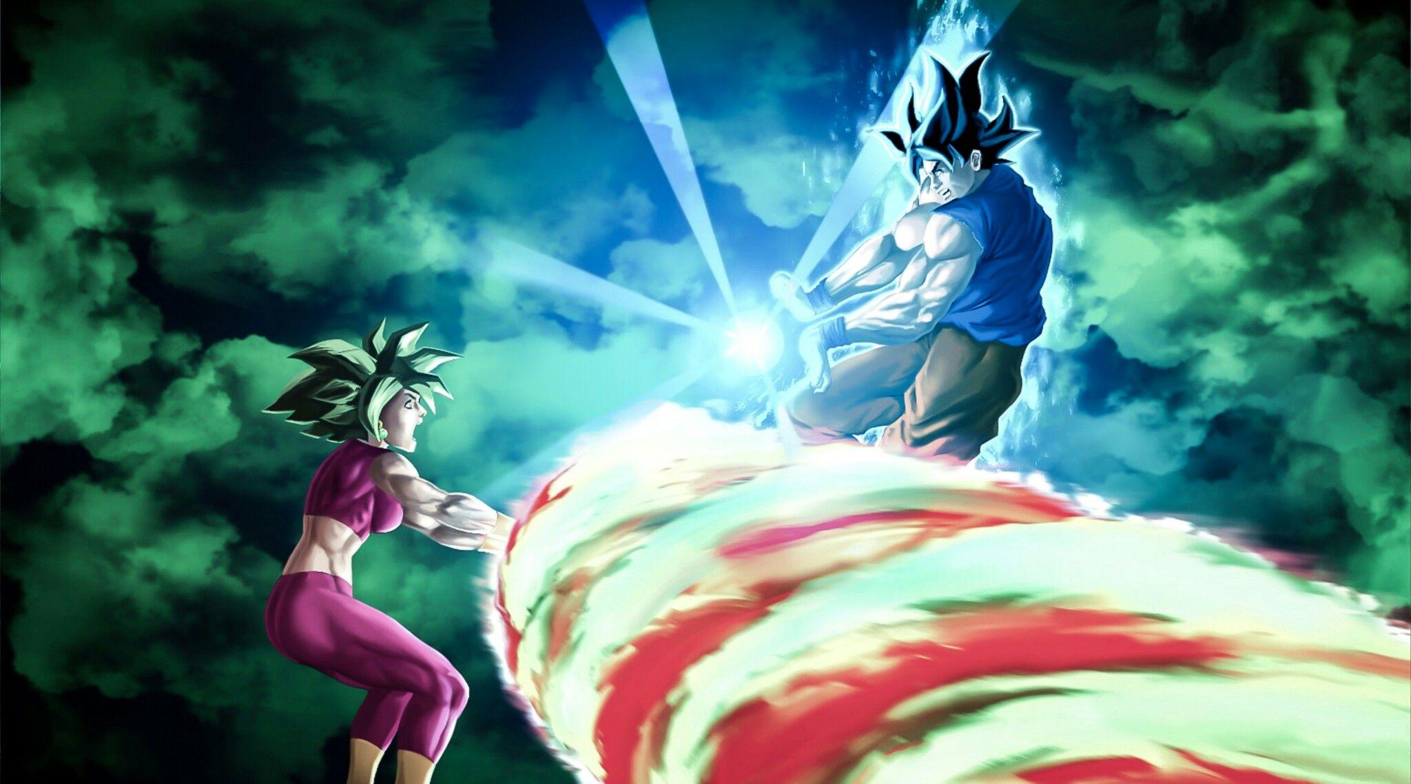 20 Goku Vs Kefla Wallpapers On Wallpapersafari