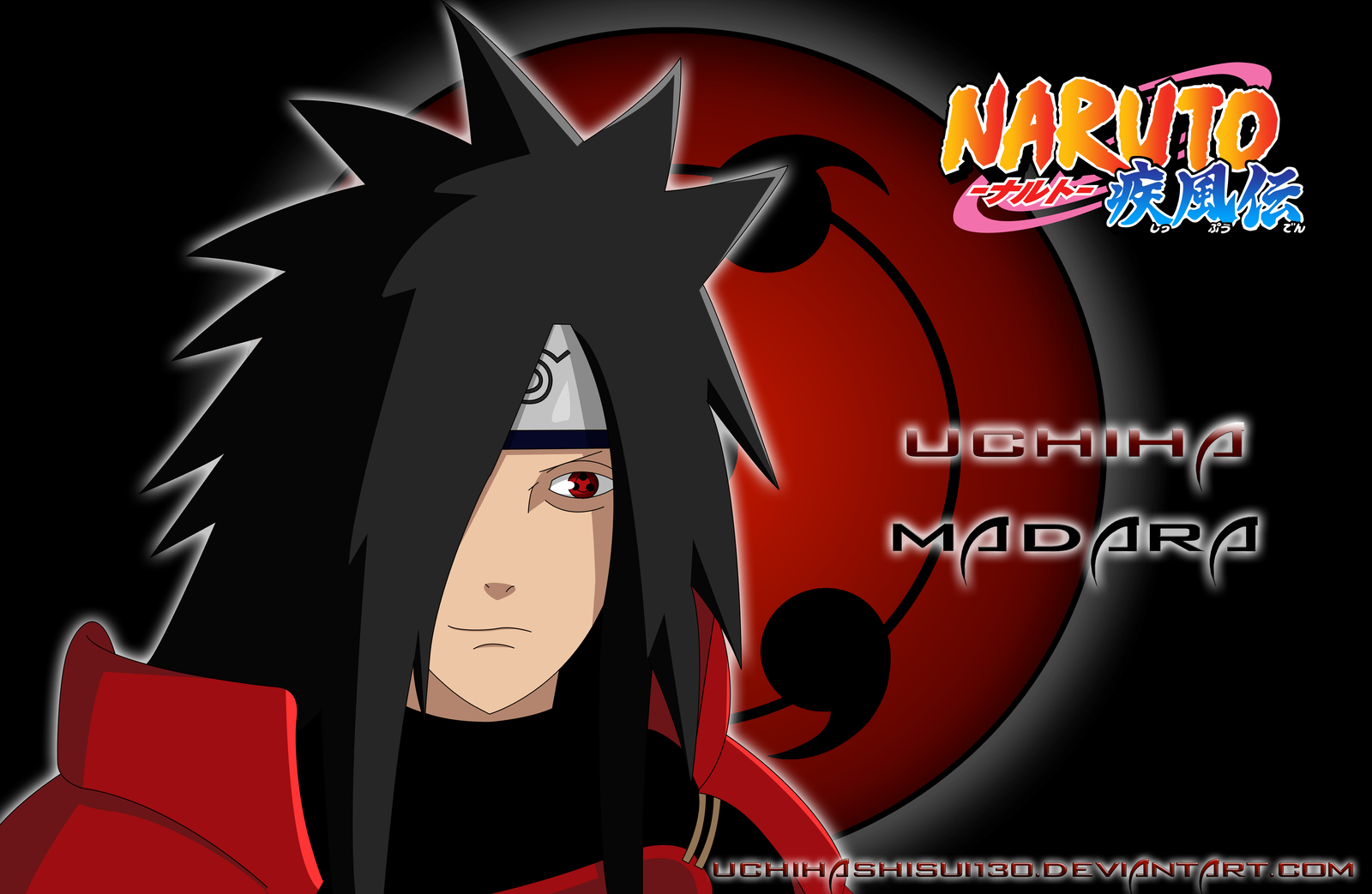 Uchiha Madara Wallpaper by uchihashisui130 1600x1043