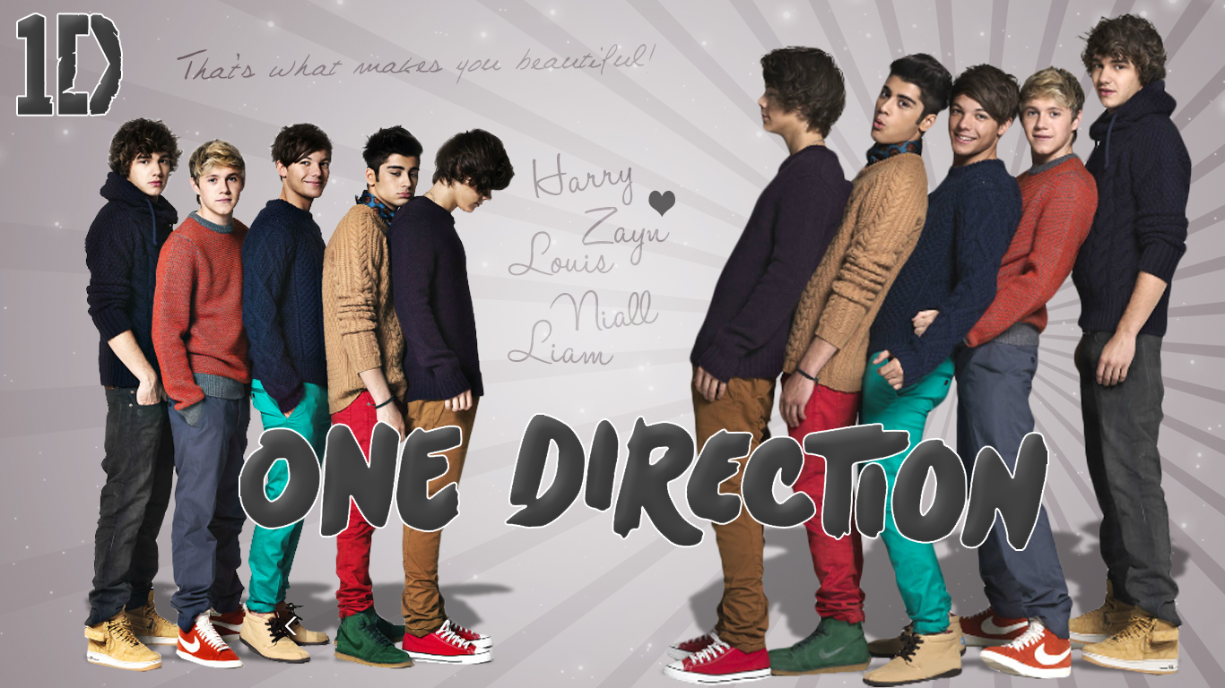 onedirectionwallpaper jared andreablogspotcom One Direction 1366x768