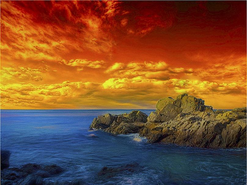 Beautiful Sunsets And Sunrises Wallpaper Beautiful sunset or sunrise 808x606