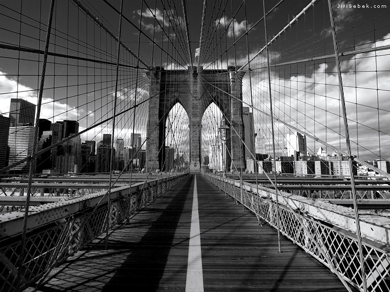 » Wallpapers for your PC » New York wallpapers » Brooklyn Bridge ...