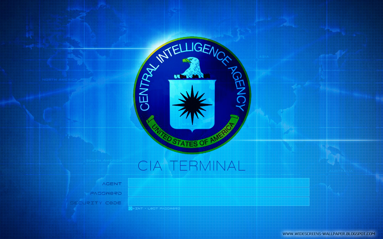 United States Of America Login Wallpaper   CIA Terminal Wallpapers 1280x800