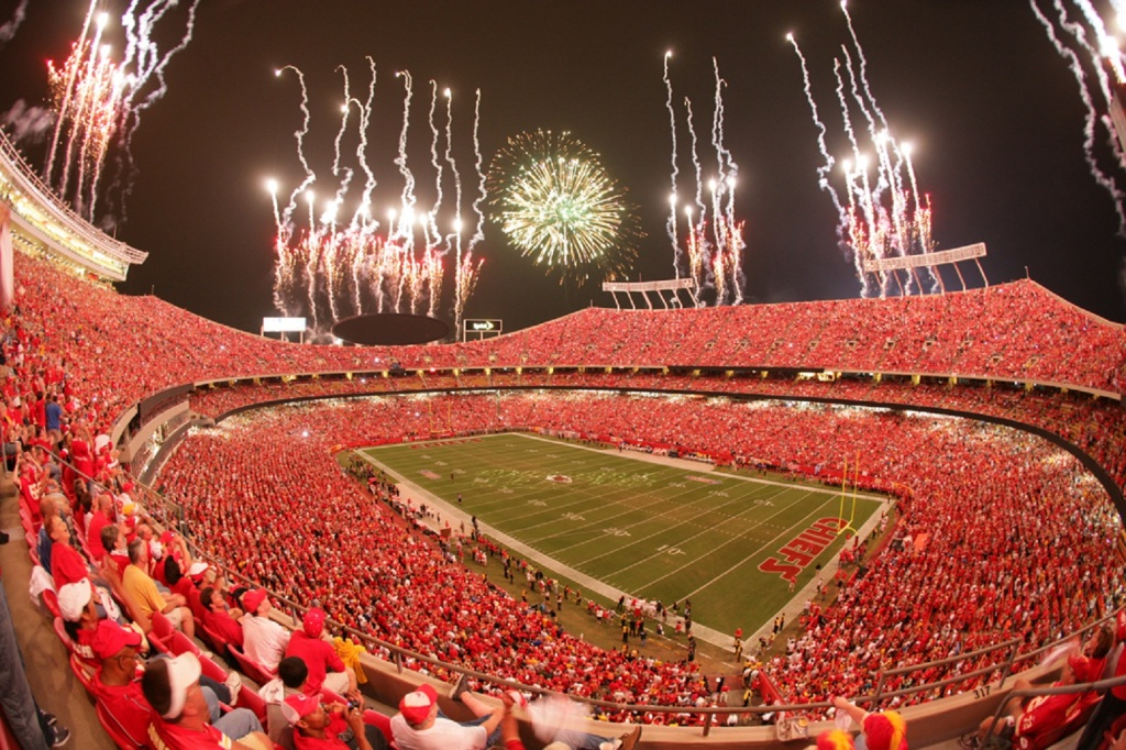 Kansas City Chiefs Stadium NFL HD Wallpapers 1024x682