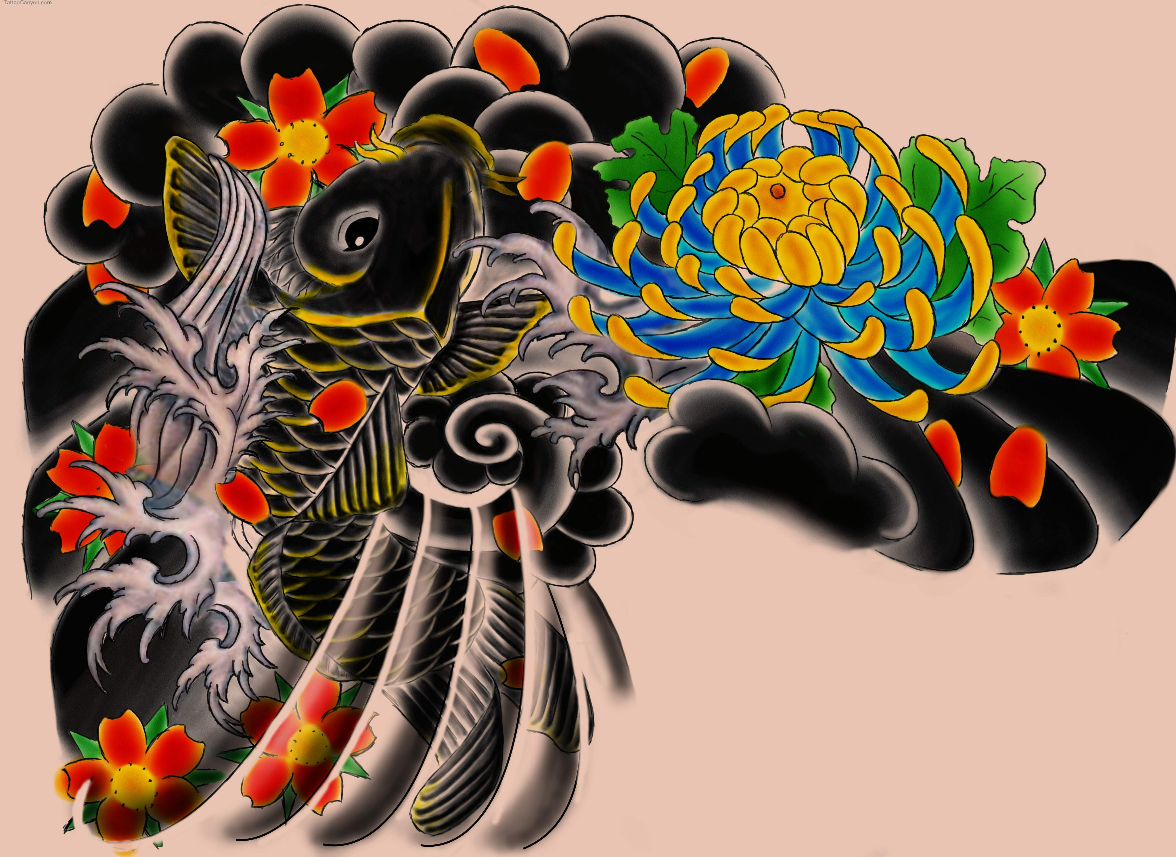 Pics Photos   Japanese Art Tattoo Designs 4090x2981