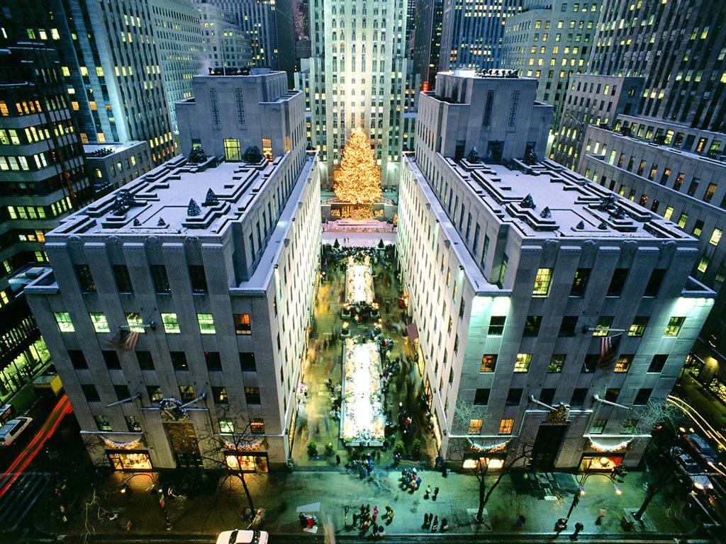 new York Christmas tree 1024x768