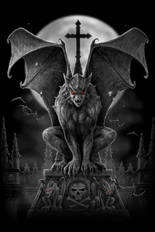 Gothic iphone wallpapers wallpapersafari - Gothic wallpaper for phone ...