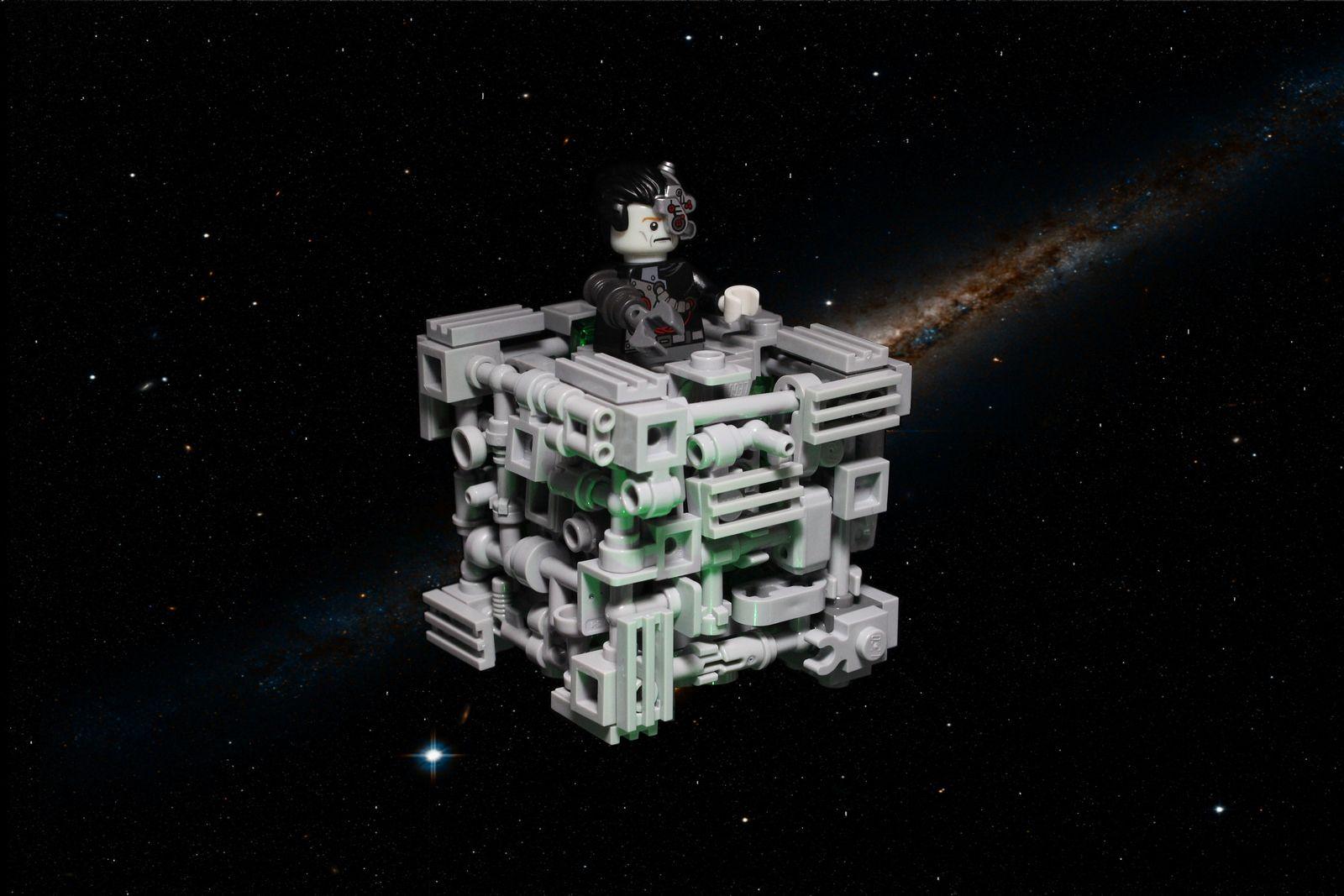Cyrus Borg Cube Lego Chibi Lego Lego spaceship 1600x1067